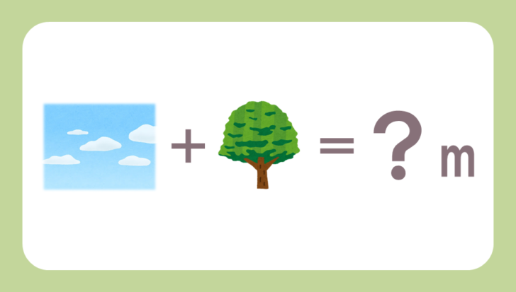 謎解き基礎問題『イラスト足し算』の問題