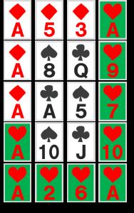 謎解き練習問題『並べられたトランプ』の解答その5