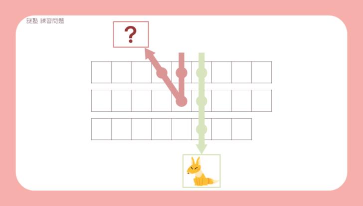 謎解き練習問題『通りゃんせ』の問題